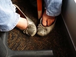Co-Worker Takes My Wife's Silver Flats Out To Lunch