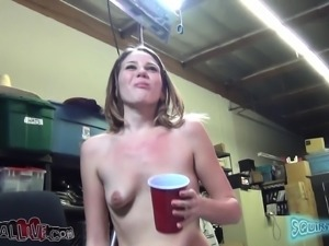 Horny little Claire Heart just wants to cum in anyway she can