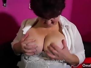 Compilation of horny grannies masturbating