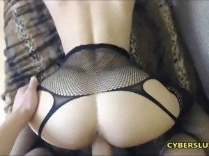 Try Not To Cum on This Beautiful Ass N Lingerie