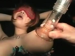 Fat Titted Japanese Woman Milking