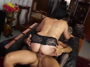 Scambisti Maturi - Italian mature BBW fucks with cum on tits