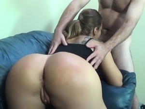 Big booty nympho Klara Gold gets drilled in every position by Ralph