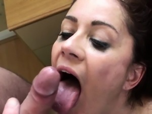 Cumswallowing uk sub throating maledoms cock