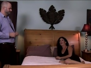 Tgirl Gina Hart gets asslicked and is anal fucking her lover