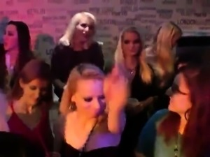 Kinky cuties get totally fierce and nude at hardcore party
