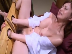 A lonely married Asian woman has an affair with a bondage master