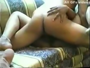 Amateur Indian brunette chubby bitch gets fucked missionary style on cam
