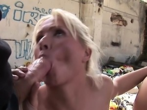 Extrem Group Fuck with Anal for Young Teens at Lost Place