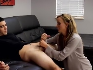 Sexy Mom Has A Big Heart And Truly Loves To Help Boys