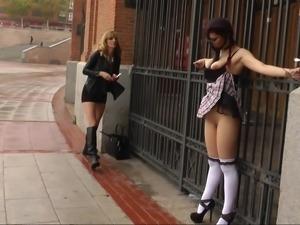 Redheaded slave girl