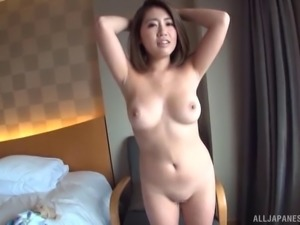 She's the raunchy little sweetie from Japan whose booty looks awesome!