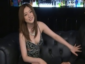 Drunkard Asian dame loves heavy hardcore bangs indoors