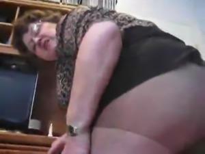 Hot bbw granny exhibition