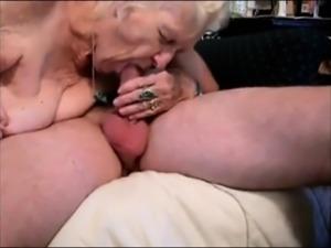 Mature couple having sex on camera