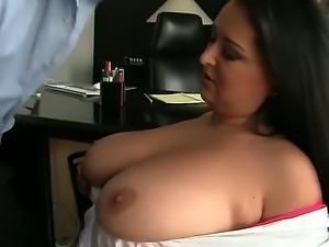 Handsome guy David Perry seduces kinky chick Juliana Grandi to fuck with him....