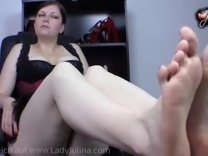 Fussfetisch Fuss Worship Fussdomina Feet Femdom Brainfuck Fu