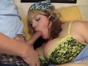 Horny BBW Buxom Bella hardcore sex