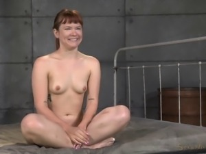 Hot ass bondage doll throbbed hardcore doggystyle in BDSM porn