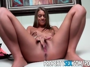 PropertySex - Stunner interviews for job with top real estate agency