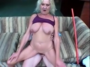 Granny fucked by pool guy part 1