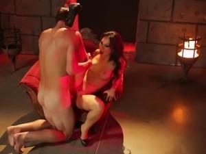 Asa Akira still loves having her anus impaled on the white cock