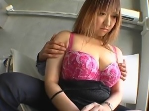 Mayumi, huge tits mom, enjoys a good fuck