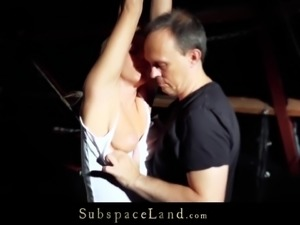 Humble Teen Slave Unbearable Submission Fuck In Ropes