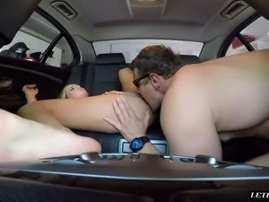 Kate England likes to have sex in a car and she likes to take charge