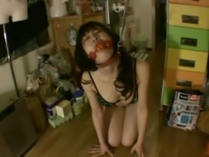 BDSM fetish Asian cowgirl throbbed doggystyle in Asian compilations