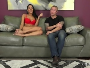 Tattooed fucker shoots her with his cum gun right in the mouth