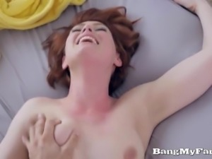 Hot Step-Sis Faye Lynn Fucks Her Infatuated Bro