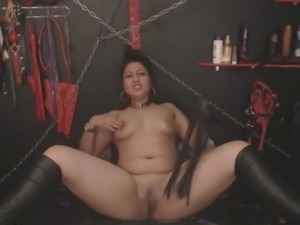 Busty Indian Chick BDSM