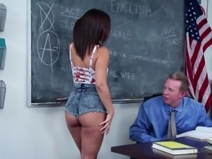 this schoolgirl is going to get the highest score