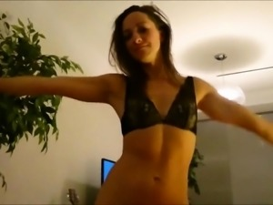 Hot Amateur Teen Playing with a Big Dildo