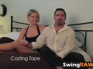 Top shelf wives and girlfriend get fucked in swinger orgies