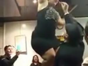 chubby arab dance