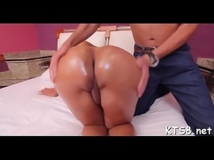 Candy ass t-girl likes it hard