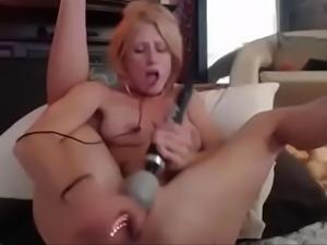 Star princess squirt dildo, gorgeous vagina! - CamChatOn.com