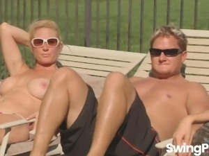 Darrell and Nikki head to swingers