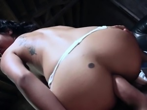 Asian nurse is fucking with her boss