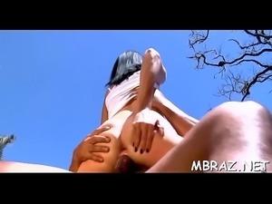 Juicy brazilian vagina likes ramming
