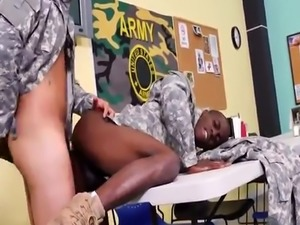 Gay military kissing videos Yes Drill Sergeant!
