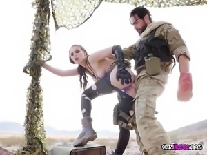 Officer Slut Casey Calvert Gets Dicked Down By Boss