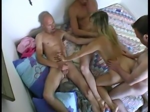 AMATEUR MATURE HOMEMADE GROUP SEX