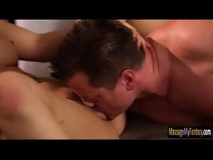 Dude got good massage from his wifes BFF