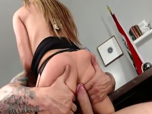 Busty police woman spanked and pussy banged