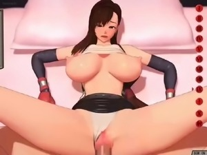 Final Fantasy VII Tifa Love 3D