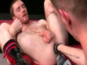 Teen gay bondage fisting movie and men Seamus O'Reilly waits - boo