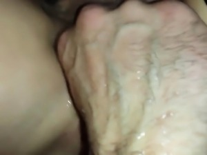 Pussy licking close up Fisting